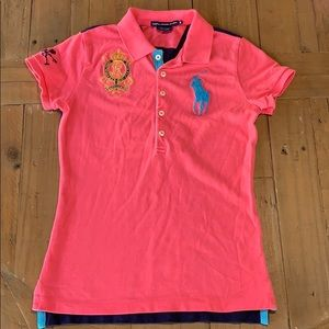 Ralph Lauren slim fit large pony polo